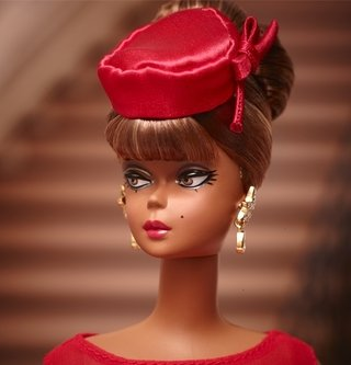 Barbie Silkstone Little Red Dress 2015 Pronta Entrega Nrfb