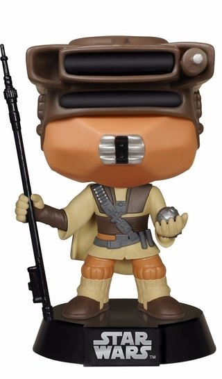 Princess Leia (boushh) Funko Pop Star Wars - #50 Bobble Head