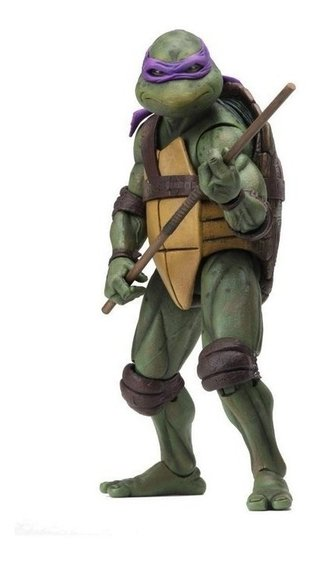 Donatello Tmnt Tartarugas Ninja 1990 Movie 7´´ Scale Neca