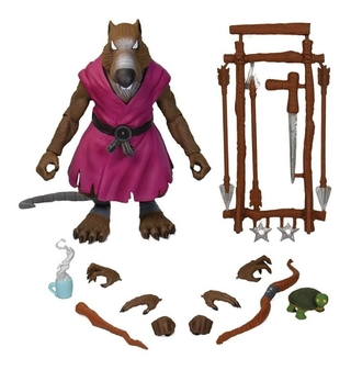 Splinter Ultimates 7  Figure - Tmnt Super7 Tartarugas Ninja