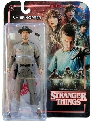 Stranger Things Chief Hopper - Action Figure - Mcfarlane