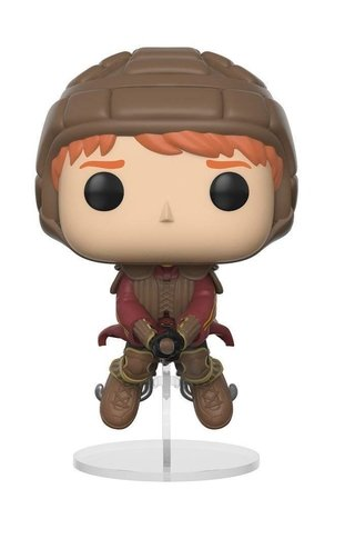 Funko Pop Movies: Harry Potter - Ron Weasley On Broom  #54