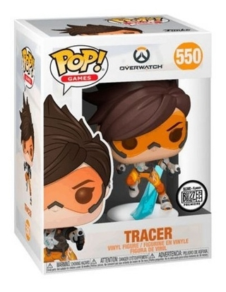 Boneco Funko Pop Games Overwatch Tracer 550