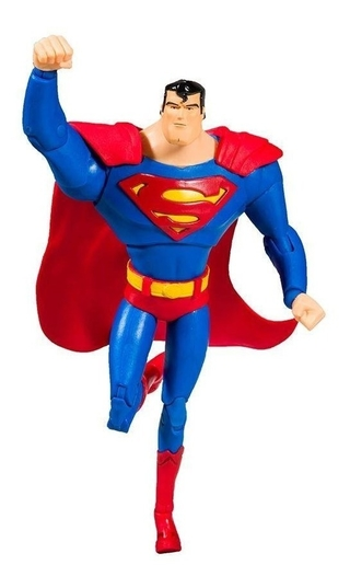 Boneco Superman Animated Series Dc Multiverse Mcfarlane