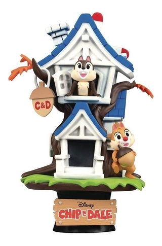 Chip 'n Dale Treehouse - D-stage Disney Beast Kingdom