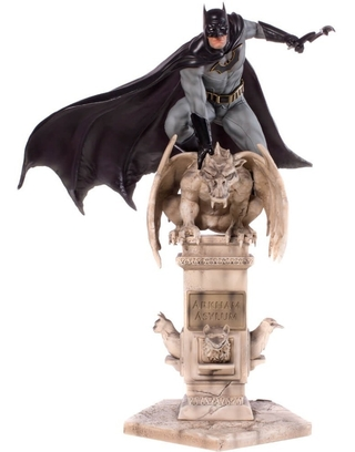 Batman Deluxe 1/10 Dc Comics Eddy Barrows Iron Studios (Versão Exclusiva)