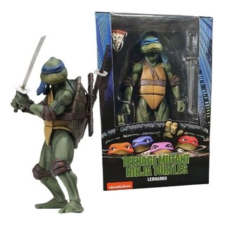 Leonardo Tmnt Tartarugas Ninja 1990 Movie 7´´ Scale Neca
