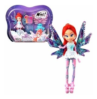 Boneca Winx Club - Tynix Mini Magic - Bloom 12 Cm - Wxmm001