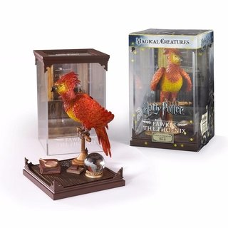 Fawkes Fênix Harry Potter Magical Creatures Noble Collection