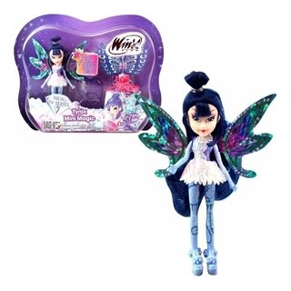 Boneca Winx Club - Tynix Mini Magic - Musa 12 Cm - Wxmm001