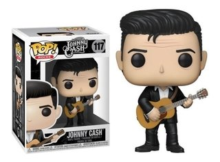Funko Pop Rocks Johnny Cash 117