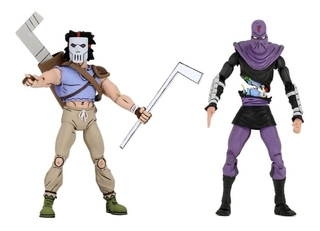 Casey Jones Vs. Foot Soldier Cartoon Tmnt 7´´ Scale Neca