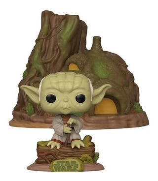 Funko Pop Star Wars 40th Empire - Dagobah Yoda With Hut 11