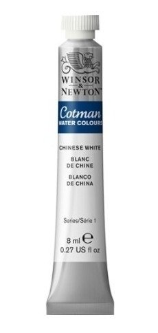 Aquarela Winsor & Newton Cotman 8ml Chinese White 0303150