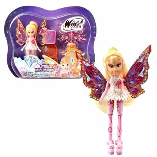 Boneca Winx Club - Tynix Mini Magic - Stella 12 Cm - Wxmm001