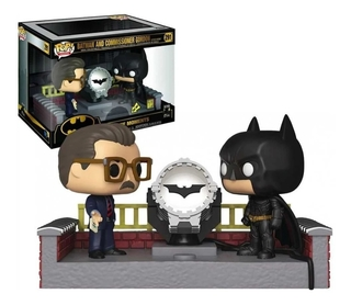 Boneco Funko Pop Batman Begins And Comissioner Gordon 291