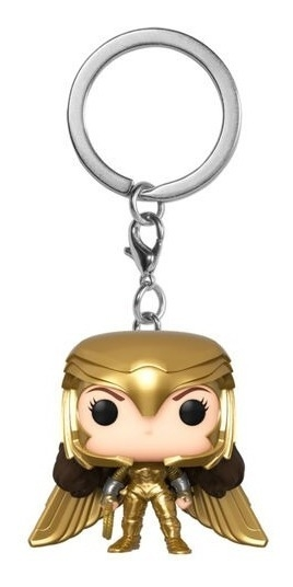 Chaveiro Funko Pop Ww84 Wonder Woman Golden Armor 66974