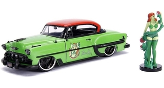 Dc Poison Ivy 1953 Chevy Bel Air Metals Die Cast 1/24