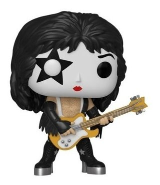 Funko Pop Rocks Kiss The Starchild #122 - Com Inmetro