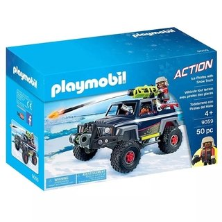 Playmobil Action Pirata Do Gelo Com Jipe 9059 Sunny
