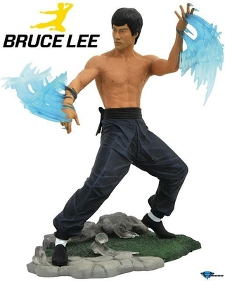 Estátua Bruce Lee Water - Gallery Diamond Toys