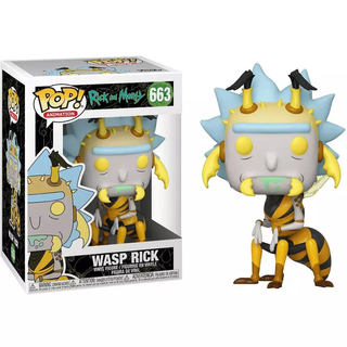 Boneco Funko Pop Rick And Morty Wasp Rick 663