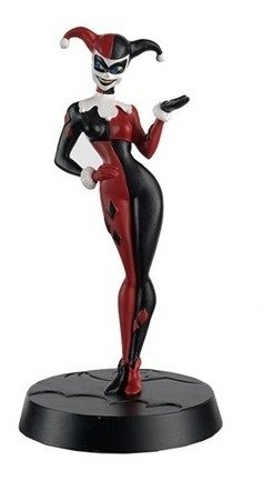 Arlequina Batman Animated Series Dc Eaglemoss Harley Quinn