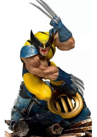 Estátua Wolverine X-men Bds Art Scale 1/10 Iron Studios