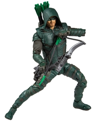 Boneco Green Arrow Tv Series Dc Multiverse Mcfarlane