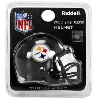 Miniatura Capacete Nfl Pittsburgh Steelers  - Riddell