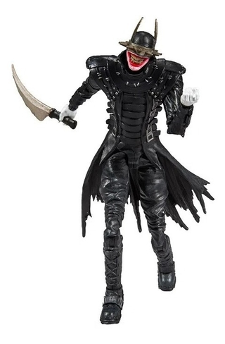 Boneco The Batman Who Laughs Modern Dc Multiverse Mcfarlane
