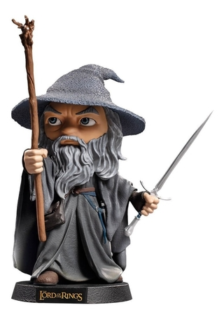 Boneco Gandalf - Lord Of The Rings - Mini Co Iron Studios