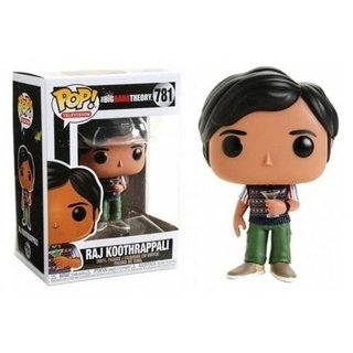 Raj Koothrappali #781 The Big Bang Theory - Funko Pop