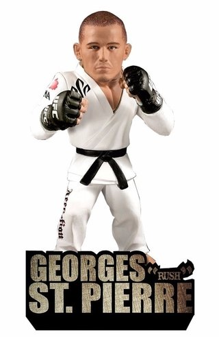 Georges  Rush  St. Pierre Ufc Round 5 Ultimate Collector
