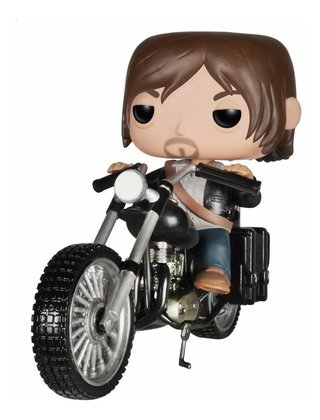 Funko Pop Tv - The Walking Dead Daryl Dixon's Chopper #08
