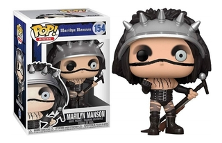 Boneco Funko Pop Rocks Marilyn Manson 154