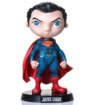 Super Man Justice League Mini Heroes Mini Co Iron Studios