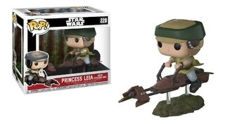 Leia On Speeder Bike - Star Wars #228 Pop Funko