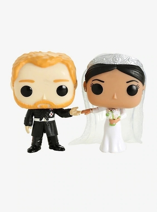 Boneco Funko Pop Royals The Duke & Duchess Of Sussex 2 Pack