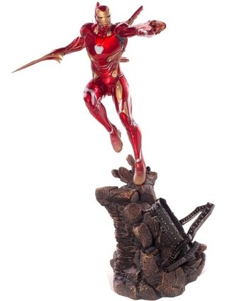 Iron Man Mark L 1/10 Bds Avengers: Infinity War Iron Studios