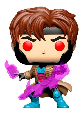 Boneco Funko Pop X-men Gambit W Cards 553