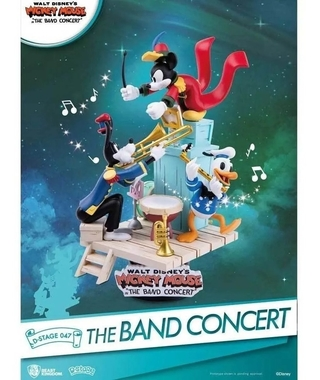 Band Concert Mickey Donald Pateta D-stage - Beast Kingdom