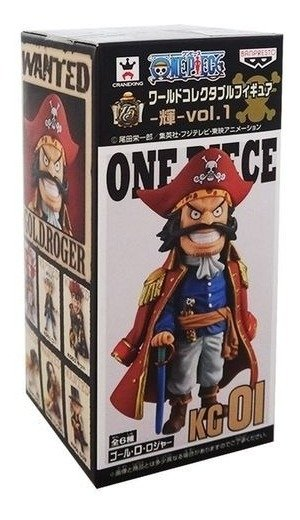 One Piece Wcf Gol D Roger 01 Banpresto Log Collection