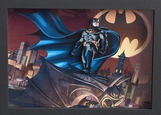 Quadro Decorativo 3d Dc Batman 32x23 Cm