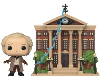 Boneco Funko Pop Back To The Future Doc With Clock Tower 15