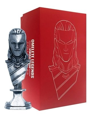 Loki Mini Busto Metal Vibranium Collection Omelete