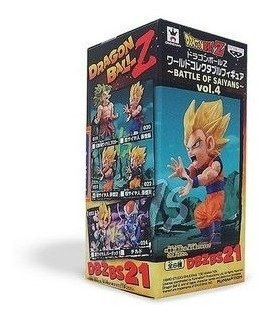 Dragon Ball Super Saiyan Goku 21 Wcf Banpresto