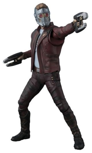 Star-lord With Explosion - Gotg Vol.2 - S.h.figuarts Bandai