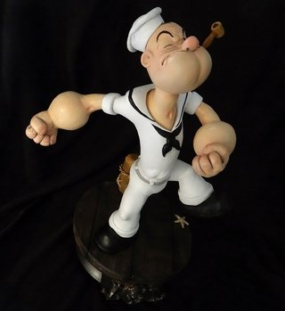 Popeye 1/5 The Sailor Man Statue - Phoenix Arts