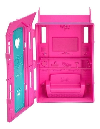 Barbie Surf Studio Da Barbie Com Boneca Inclusa Fun 85825